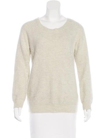 Acne Studios Angora Raglan Sweater None