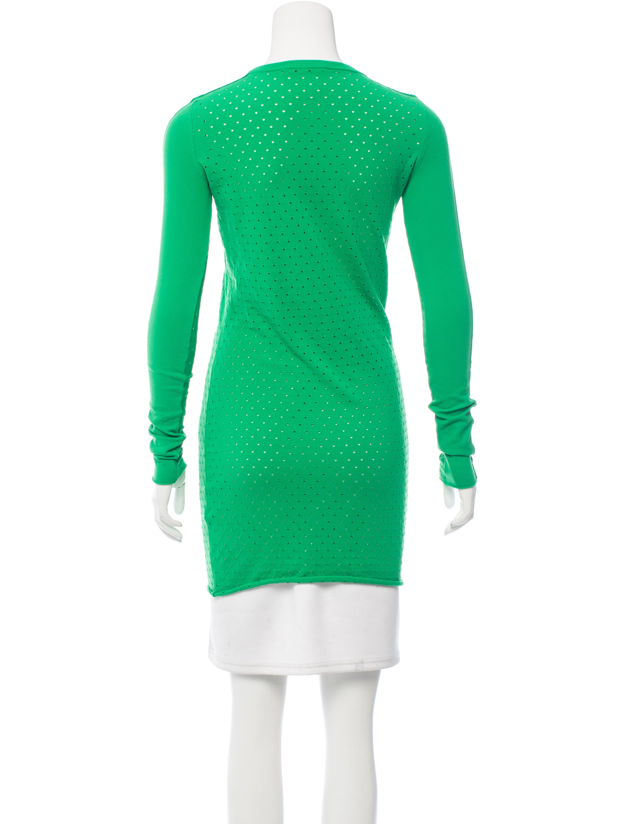 Acne Studios Marx Holes Dress Clothing Acn30561 The