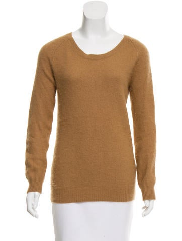 Acne Studios Textured Angora Sweater None