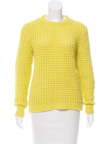Acne Studios Lina Pineapple Knit Sweater None