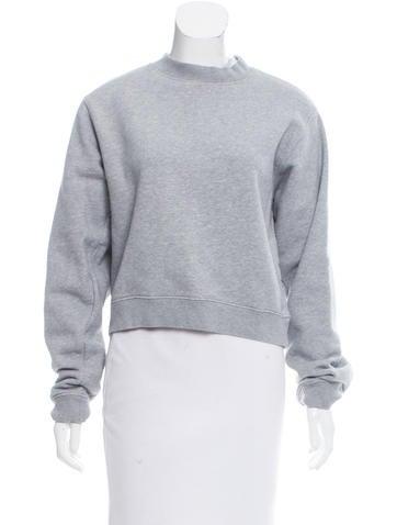 Acne Studios Cropped Crewneck Sweatshirt None