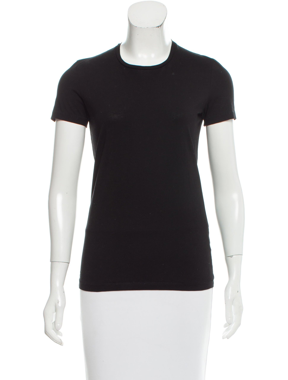 Acne Studios Crew Neck Short Sleeve T Shirt Clothing
