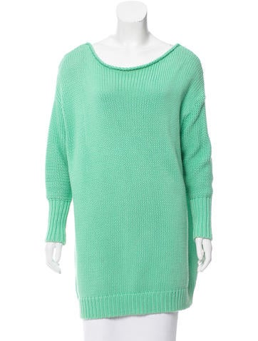 Acne Oversize Sweater Tunic None