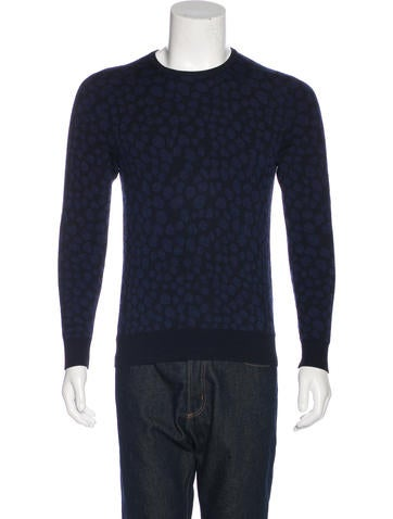 Acne Studios Clissold Animal Wool Sweater None