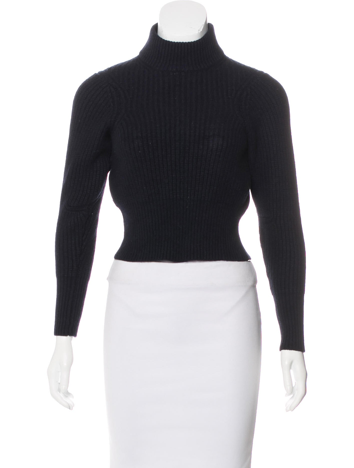 Acne Studios Wool Cropped Sweater - Clothing - ACN31700 | The RealReal