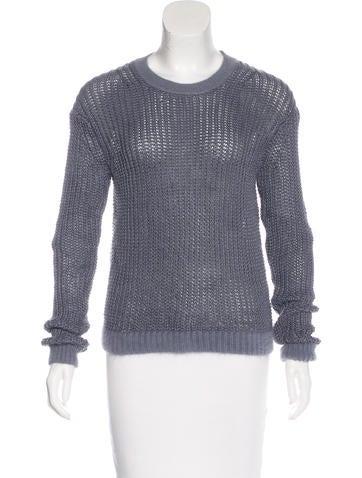 Acne Studios Ninon Linen Sweater None