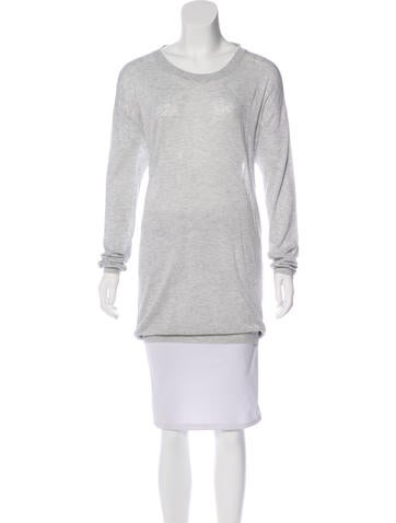 Acne Studios Knit Cutout Sweater None