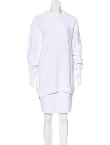Acne Studios Long Sleeve Knit Sweater None