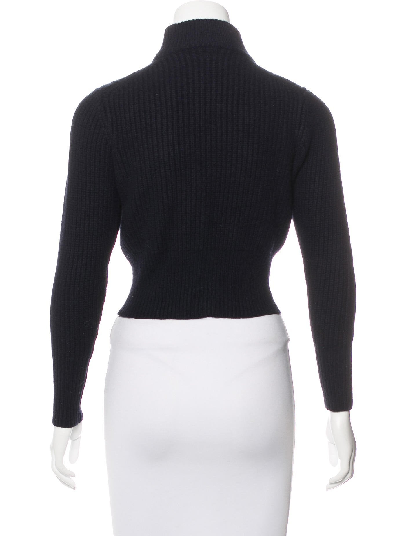 Acne Studios Wool Cropped Sweater - Clothing - ACN32816 | The RealReal