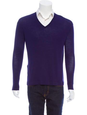 Acne Studios Lynks Merino Wool Sweater None