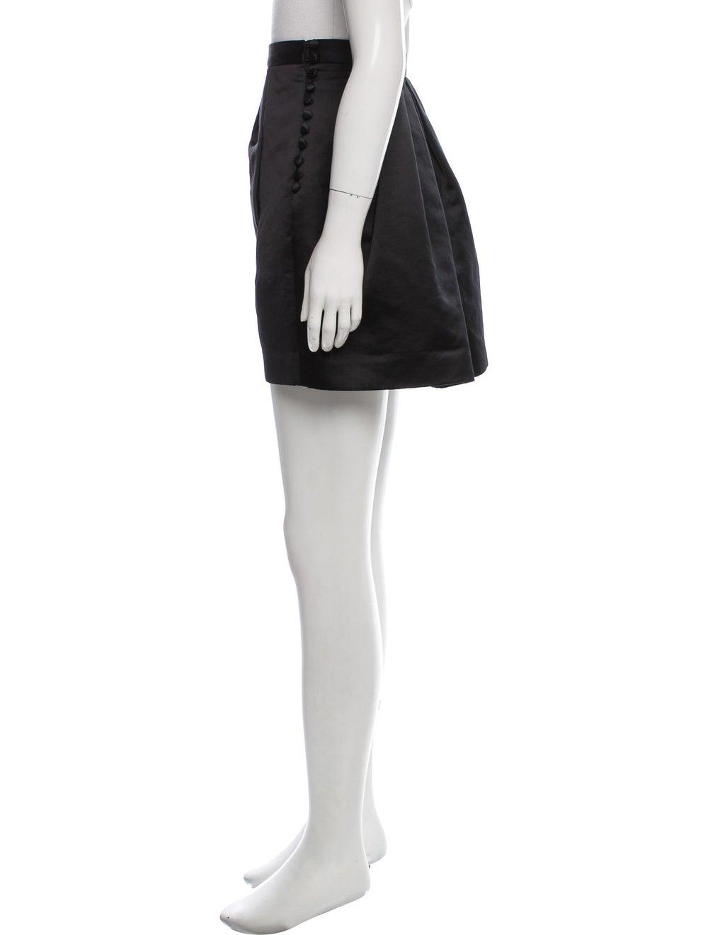 Acne Studios Satin Willow Skirt Black - image 2