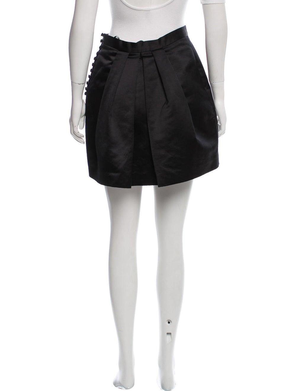 Acne Studios Satin Willow Skirt Black - image 3