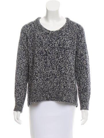 Acne Studios Wool Mélange Sweater None