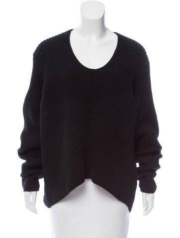 Acne Studios Deborah Rib Knit Sweater None