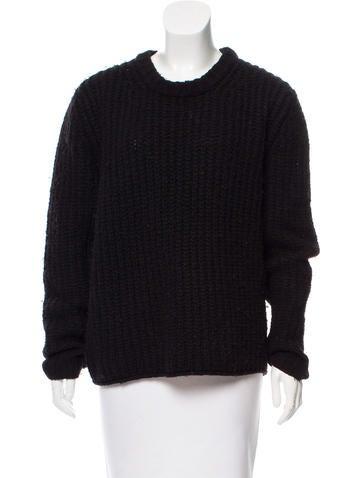 Acne Studios Oversize Rib Knit Sweater None