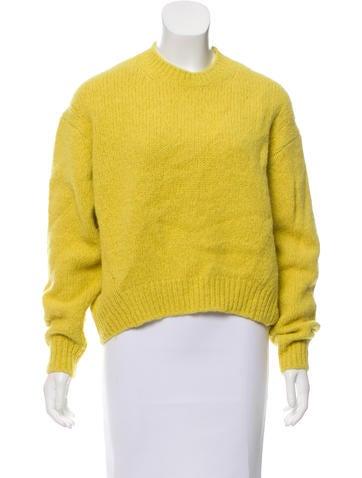 Acne Studios Alpaca-Blend Sweater None