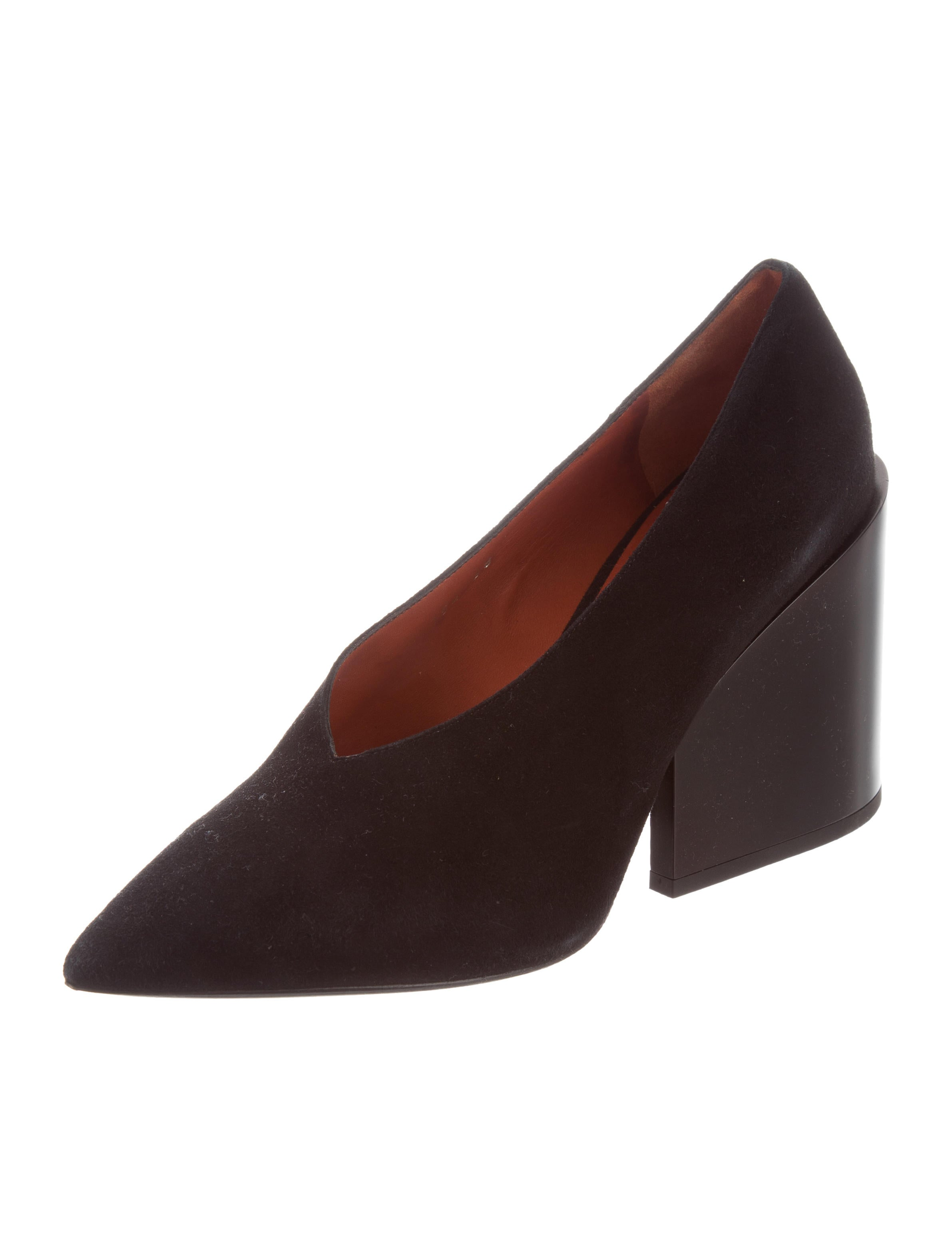 Acne Studios Alvara Suede Pumps w/ Tags release dates authentic discount manchester great sale footaction cheap price shop offer cheap online 2014 unisex giGlneQS