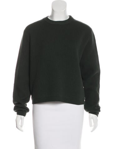 Acne Studios Misty Boiled Wool Sweater None