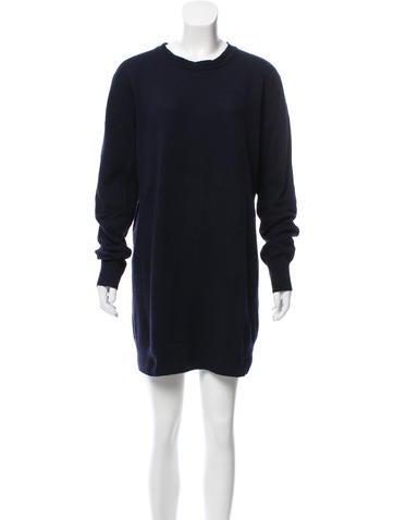 Acne Studios Wool Sweater Dress None