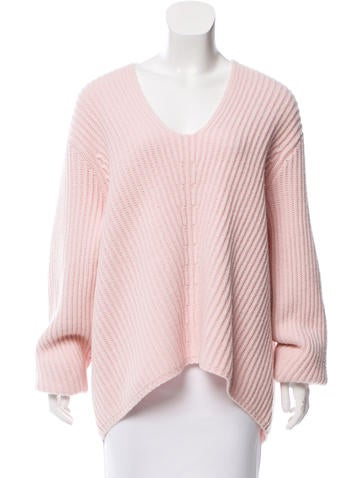 Acne Studios Ribbed Wool Sweater None