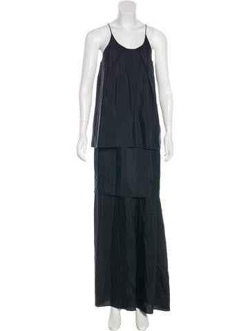 Acne Studios Silk Maxi Dress by Acne Studios
