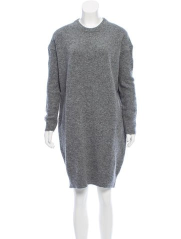 Acne Studios Phebe Wool Dress None