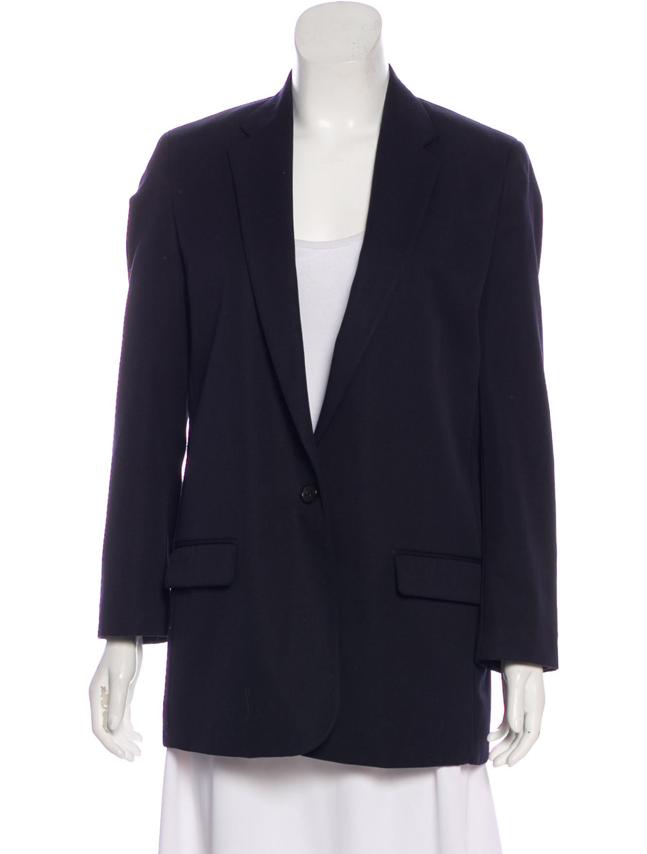 Wool Notch Lapel Blazer by Acne Studios