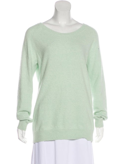 Acne Studios Angora Knit Sweater Mint