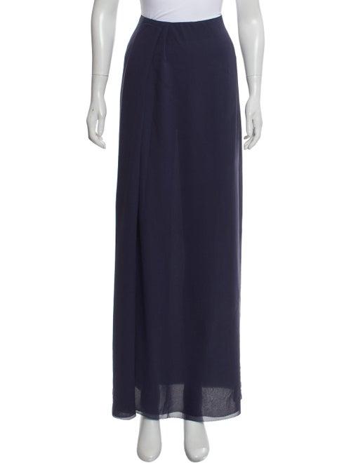 Acne Studios Slit Maxi Skirt Blue - image 1