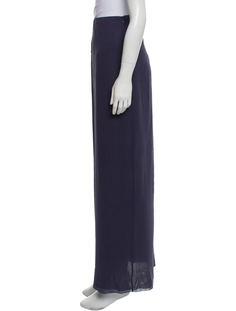 Acne Studios Slit Maxi Skirt Blue - image 2