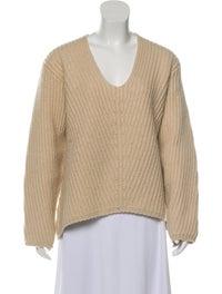Wool V-Neck Sweater image 1