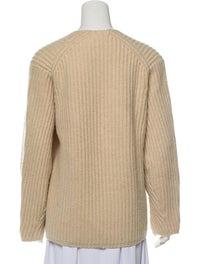 Wool V-Neck Sweater image 3