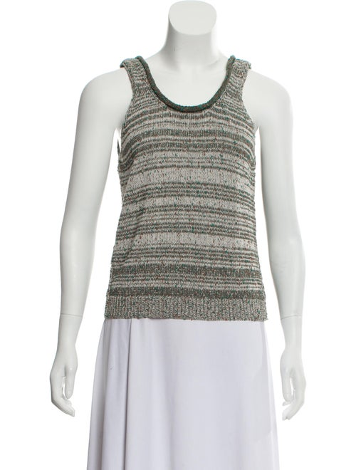 Acne Studios Knit Sleeveless Sweater Green