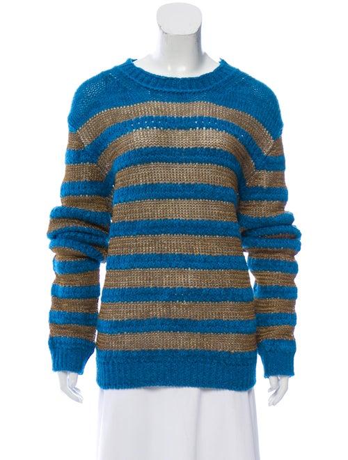 Acne Studios Medium Knit Sweater Blue
