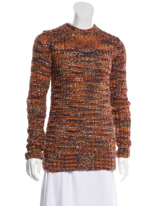 Acne Studios Medium-Weight Knit Sweater Orange