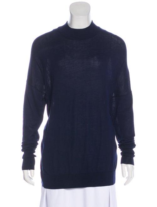 Acne Studios Lightweight Knit Sweater Blue