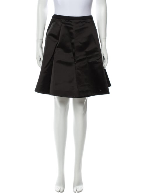 Acne Studios Knee-Length Skirt Black - image 1