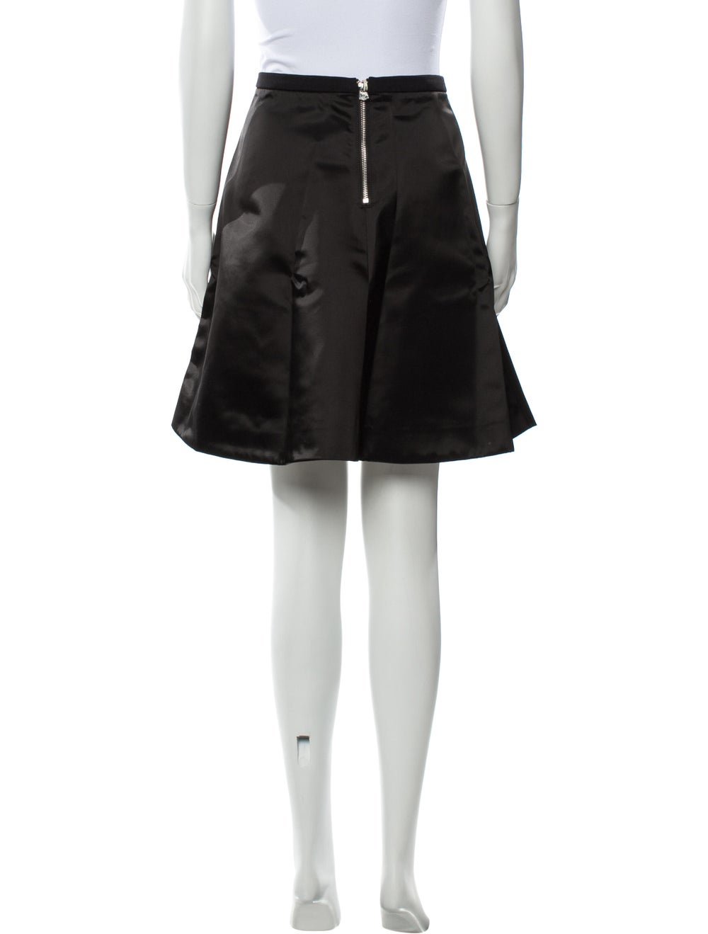 Acne Studios Knee-Length Skirt Black - image 3