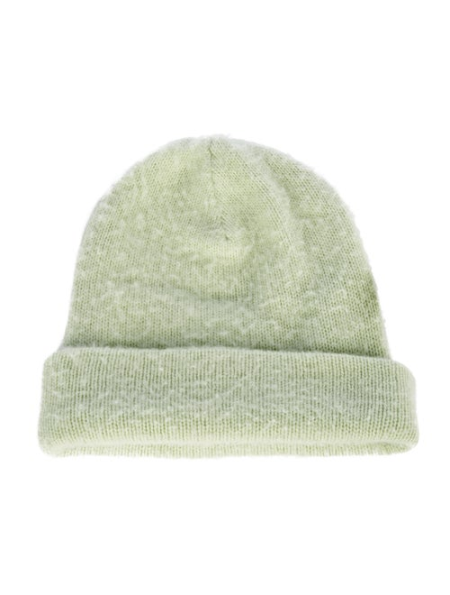 Acne Studios Wool Knit Beanie Green