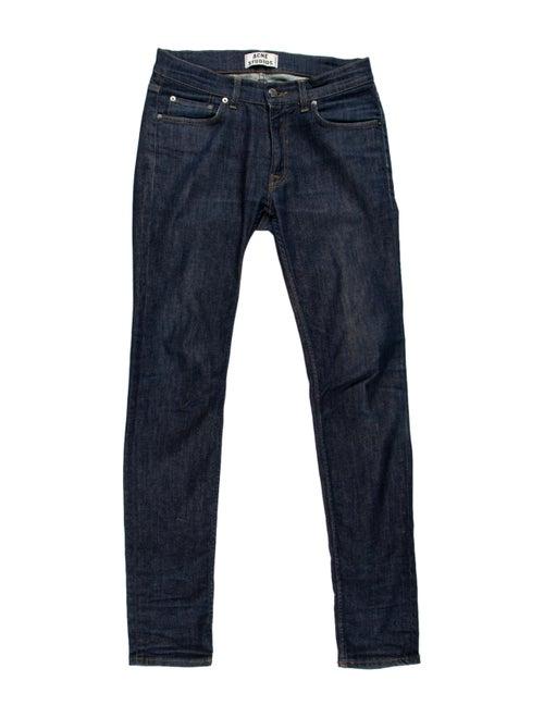 Acne Studios Ace Raw Skinny Jeans