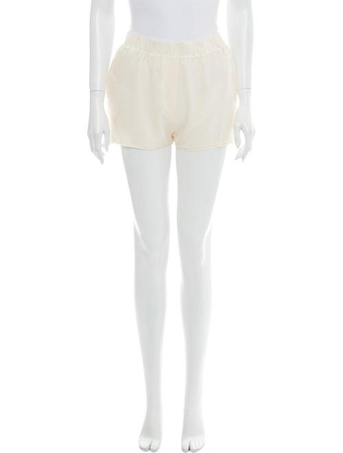 Acne Studios Silk Mini Shorts