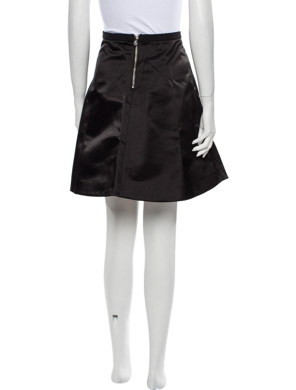 Acne Studios Knee-Length Skirt Black - image 3