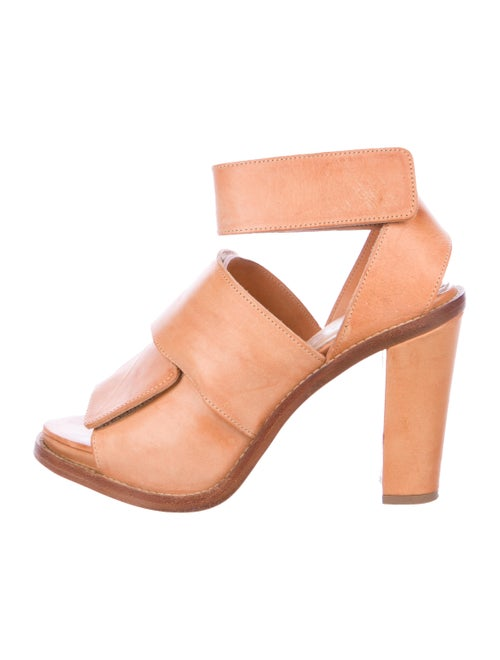Acne Studios Leather Sandals Brown