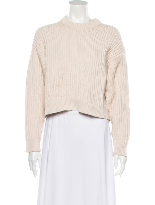 Acne Studios Crew Neck Sweater White