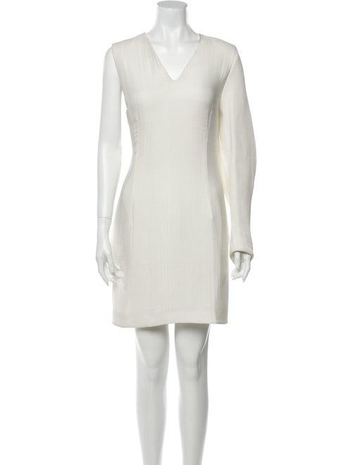 Acne Studios V-Neck Mini Dress