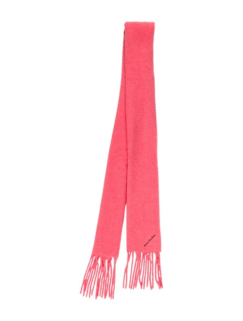Acne Studios Villy Knit Scarf Pink - image 1