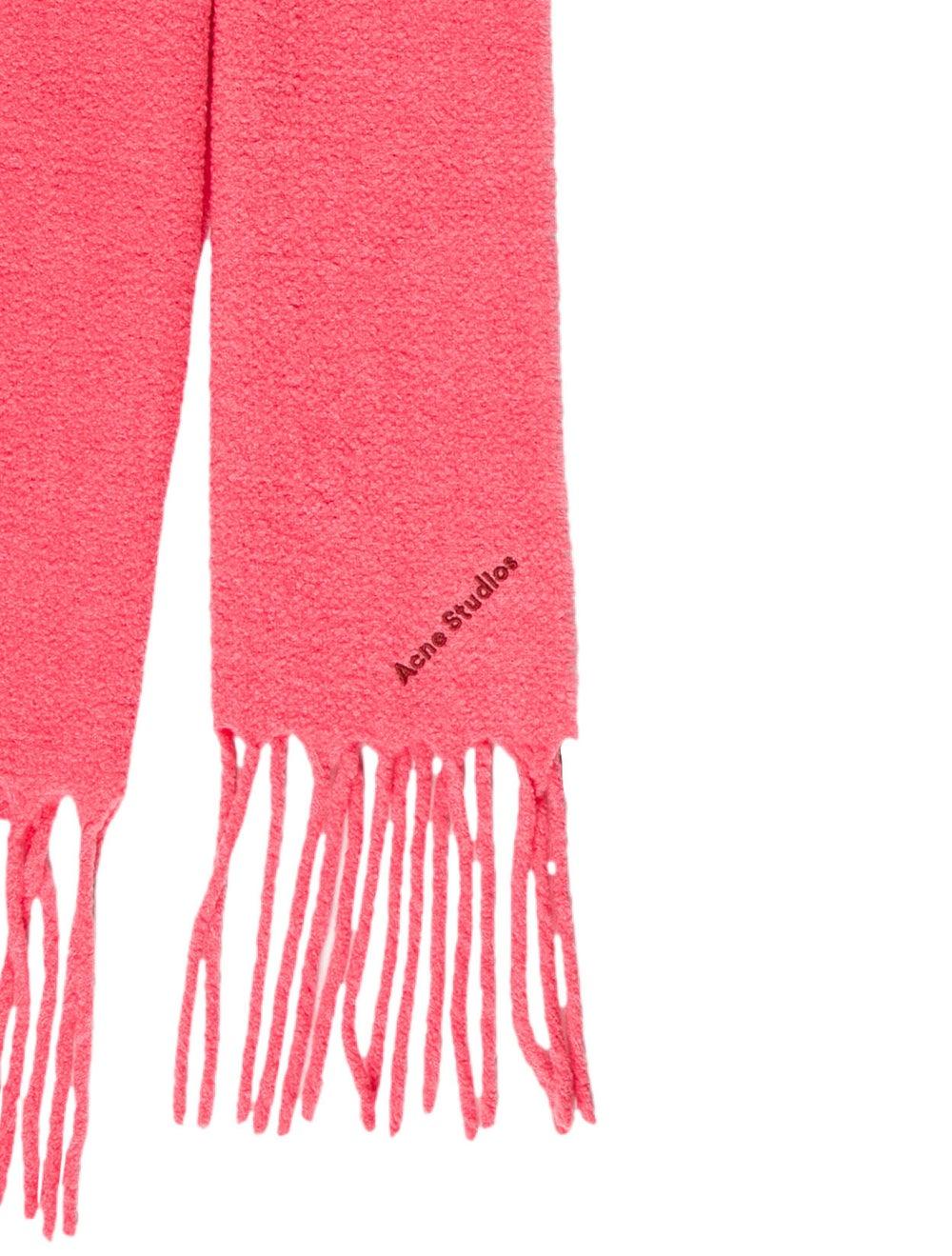 Acne Studios Villy Knit Scarf Pink - image 2