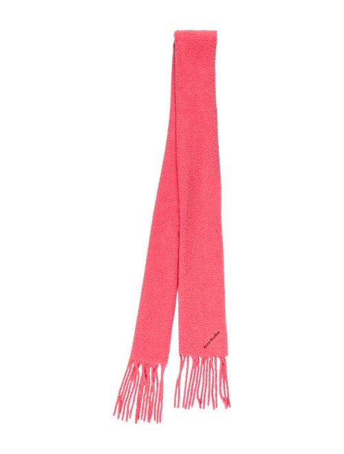 Acne Studios Villy Wool Scarf Pink - image 1