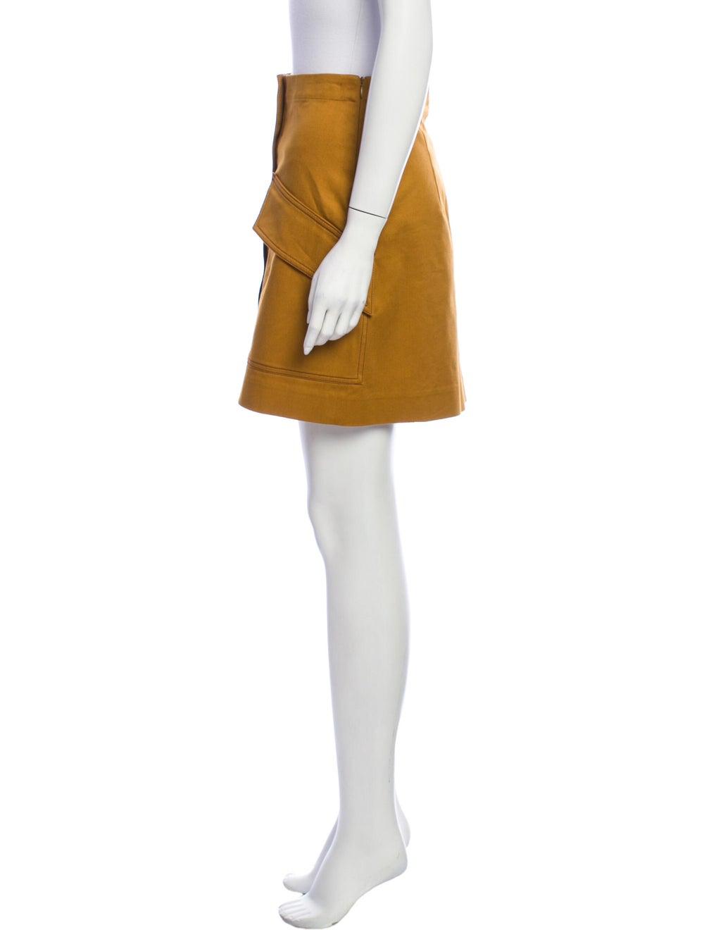 Acne Studios Mini Skirt Brown - image 2