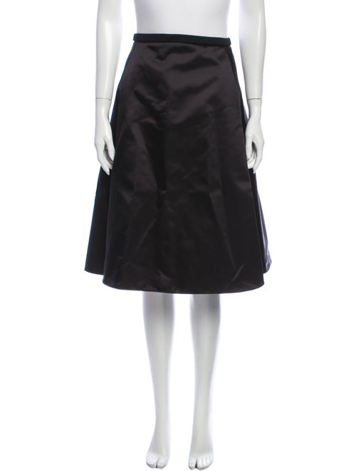 Acne Studios Knee-Length Skirt Black - image 1